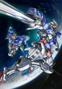 Rating: Safe Score: 12 Tags: 00_gundam gundam gundam_00 gundam_exia mecha sword User: Nazzrie