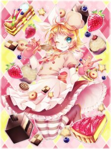 Rating: Safe Score: 18 Tags: 1055 dress kagamine_rin pantyhose vocaloid User: Mr_GT