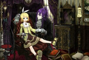 Rating: Safe Score: 13 Tags: dress kagamine_rin kamui_gakupo koutenbelg_no_youhei lolita_fashion vocaloid User: Radioactive