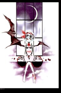 Rating: Safe Score: 7 Tags: kanno_touko kyokutou_hanayome remilia_scarlet touhou wings User: Radioactive