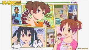 Rating: Questionable Score: 7 Tags: deletethistag hirasawa_ui k-on! nakano_azusa suzuki_jun User: For.Infi
