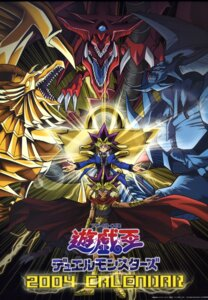 Rating: Safe Score: 8 Tags: atem calendar horns male monster mutou_yuugi obelisk_no_kyoshinhei osiris_no_tenkuuryuu ra_no_yokushinryuu yugioh User: vistaspl