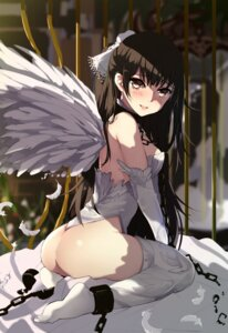 Rating: Questionable Score: 133 Tags: angel ass bba1985 bondage leotard no_bra nopan thighhighs thong wings User: Mr_GT