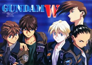 Rating: Safe Score: 5 Tags: chang_wufei duo_maxwell gundam gundam_wing heero_yuy male quatre_raberba_winner trowa_barton User: Radioactive