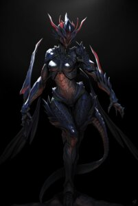 Rating: Safe Score: 42 Tags: armor daejun_park duplicate monster_girl tail User: NotRadioactiveHonest