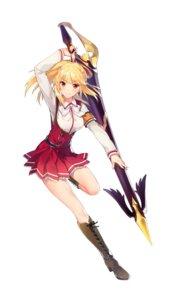 Rating: Safe Score: 45 Tags: heels omega_labyrinth seifuku shirogane_mirei tagme weapon User: saemonnokami