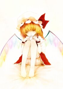 Rating: Safe Score: 11 Tags: bloomers flandre_scarlet purupurusan touhou wings User: fireattack
