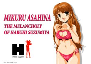 Rating: Questionable Score: 6 Tags: asahina_mikuru bikini cleavage nanashi_noiji suzumiya_haruhi_no_yuuutsu swimsuits User: CarttonX