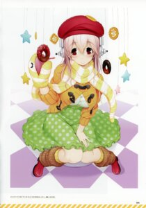 Rating: Safe Score: 7 Tags: binding_discoloration headphones scanning_dust sonico super_sonico tsuji_santa User: kiyoe