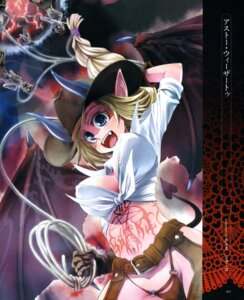 Rating: Questionable Score: 13 Tags: cleavage devil erect_nipples horns no_bra pantsu tail weshica/shougo wings User: petopeto