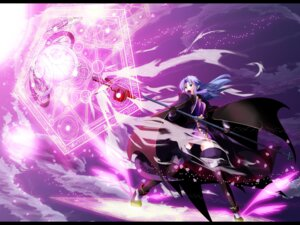 Rating: Safe Score: 12 Tags: caster fate/stay_night mahou_shoujo_lyrical_nanoha mihane parody wallpaper User: Radioactive