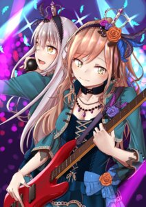 Rating: Safe Score: 8 Tags: bang_dream! cleavage guitar imai_lisa minato_yukina sasachi User: SaAngel0203