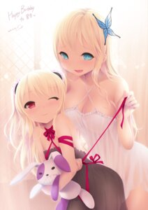 Rating: Questionable Score: 110 Tags: boku_wa_tomodachi_ga_sukunai cait cleavage hasegawa_kobato kashiwazaki_sena lingerie loli see_through undressing User: blooregardo