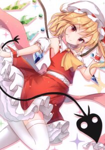 Rating: Safe Score: 37 Tags: eterna-radiare flandre_scarlet riichu skirt_lift thighhighs touhou wings User: kiyoe