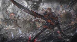 Rating: Safe Score: 38 Tags: armor pixiv_fantasia pixiv_fantasia_revenge_of_the_darkness stu_dts sword User: RyuZU