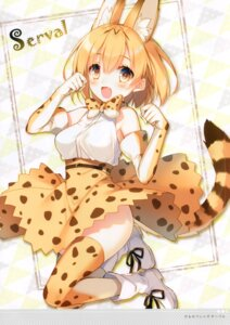 Rating: Safe Score: 4 Tags: kemono_friends serval toosaka_asagi User: kiyoe