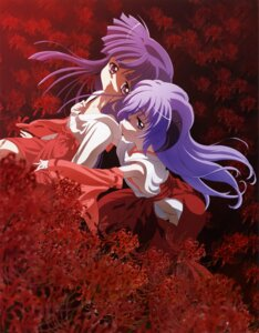 Rating: Questionable Score: 22 Tags: furude_rika hanyuu higurashi_no_naku_koro_ni horns loli miko User: charly_rozen
