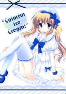 Rating: Safe Score: 41 Tags: cascade dress hasekura_chiaki thighhighs User: fireattack