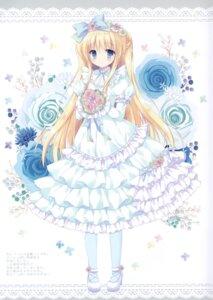 Rating: Questionable Score: 16 Tags: cascade dress hasekura_chiaki heels User: Radioactive