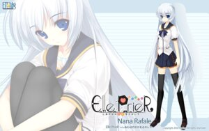 Rating: Safe Score: 25 Tags: elle_prier etoiles moric nana_rafale seifuku thighhighs wallpaper User: maurospider