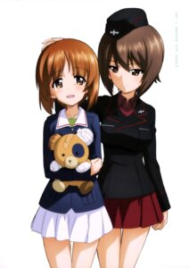 Rating: Safe Score: 36 Tags: girls_und_panzer nishizumi_maho nishizumi_miho seifuku uniform User: drop