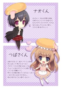 Rating: Safe Score: 11 Tags: chibi dress nemunemu pantyhose trap User: blooregardo