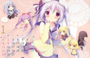 Rating: Safe Score: 17 Tags: animal_ears calendar chibi crossover gochuumon_wa_usagi_desu_ka? kafuu_chino seifuku shiratama shiratamaco shiroi_inu skirt_lift stockings sweater tail thighhighs tippy_(gochuumon_wa_usagi_desu_ka?) User: Radioactive