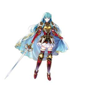 Rating: Questionable Score: 11 Tags: armor asatani_tomoyo eirika fire_emblem fire_emblem:_seima_no_kouseki fire_emblem_heroes heels nintendo sword thighhighs User: fly24