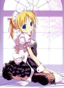 Rating: Questionable Score: 46 Tags: maid nopan thighhighs yoshioka_takahiko User: crim