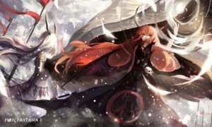 Rating: Safe Score: 42 Tags: dress horns pixiv_fantasia_t sishenfan wings User: Zenex