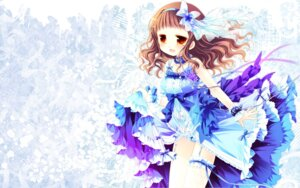 Rating: Questionable Score: 41 Tags: dress higanbana_no_saku_yoru_ni kusunoki_midori loli pantsu sakurazawa_izumi stockings thighhighs wallpaper User: fairyren