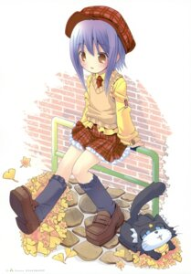 Rating: Safe Score: 16 Tags: ka-kun kuroi_sumi moetan neko pop seifuku User: petopeto