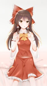 Rating: Safe Score: 8 Tags: hakurei_reimu touhou xiaoxiao_(user_ackt2884) User: ssiori