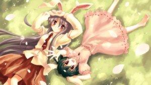 Rating: Safe Score: 26 Tags: animal_ears bunny_ears inaba_tewi reisen_udongein_inaba studio_s.d.t. touhou yuuki_tatsuya User: Radioactive