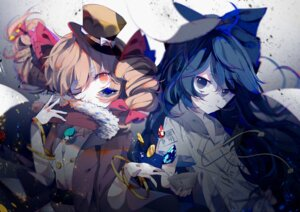 Rating: Safe Score: 38 Tags: touhou yorigami_jo'on yorigami_shion zhixie_jiaobu User: Nepcoheart