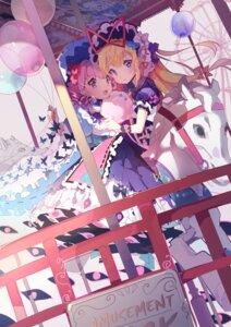 Rating: Safe Score: 31 Tags: dress saigyouji_yuyuko tagme touhou yakumo_yukari User: BattlequeenYume