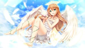 Rating: Safe Score: 40 Tags: angel bloomers cleavage dress tagme wings User: BattlequeenYume