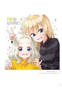 Rating: Questionable Score: 8 Tags: new_game! tokunou_shoutarou yagami_kou yamato_sophie_waon User: kiyoe
