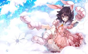 Rating: Safe Score: 16 Tags: animal_ears bunny_ears cercis inaba_tewi touhou User: Mr_GT