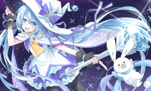 Rating: Safe Score: 31 Tags: hatsune_miku poppy_(artist) vocaloid yuki_miku User: animeprincess