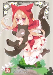 Rating: Safe Score: 8 Tags: heels little_red_riding_hood_(character) tagme tail thighhighs User: kiyoe