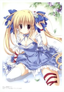 Rating: Safe Score: 47 Tags: cleavage dress k-books korie_riko thighhighs User: WtfCakes