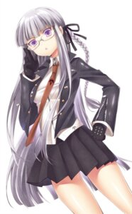 Rating: Safe Score: 26 Tags: dangan-ronpa hattori kirigiri_kyouko megane seifuku User: 椎名深夏