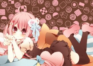 Rating: Safe Score: 14 Tags: anju thighhighs User: fairyren