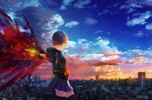 Rating: Safe Score: 25 Tags: kirishima_touka shitub52 thighhighs tokyo_ghoul wings User: LolitaJoy