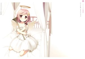 Rating: Safe Score: 32 Tags: angel dress kantoku wings your_diary yua User: Twinsenzw