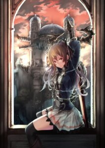 Rating: Safe Score: 43 Tags: granblue_fantasy saraki sword thighhighs vila_(granblue_fantasy) User: Mr_GT