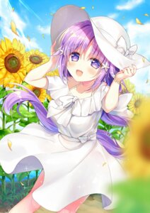 Rating: Safe Score: 31 Tags: dress natsuki_marina summer_dress User: BattlequeenYume