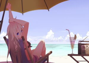 Rating: Safe Score: 64 Tags: bikini ia_(vocaloid) swimsuits tomioka_jirou umbrella vocaloid User: RaulDJ747