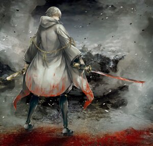 Rating: Safe Score: 13 Tags: abandon_ranka armor japanese_clothes male sword touken_ranbu tsurumaru_kuninaga User: charunetra